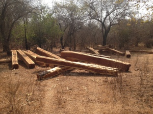 Illegally harvested rosewood stocks - all gone?