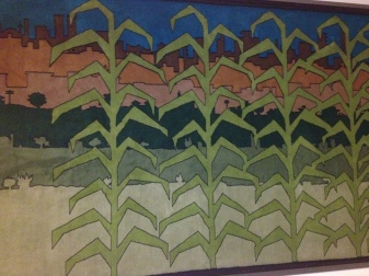 "Tapestry in the ""Mexico Room"" at the FAO"