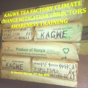 Training of factory board of directors on climate change issues and ways to save energy costs